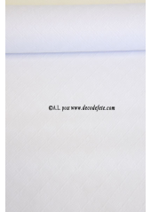 10 M Nappe papier EXTRA blanc