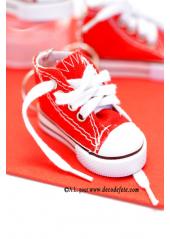 1 Basket porte clés rouge