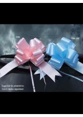 10 Noeuds automatiques classiques rose ou bleu ciel