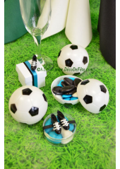 3 Boites ballons de football