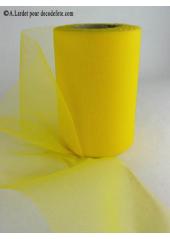 20M Tulle déco jaune