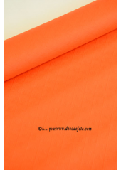 10 M Nappe papier EXTRA orange