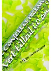 1 canon confetti vert 60cm
