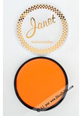 1 fard fluo orange