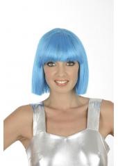 1 Perruque Crazy turquoise