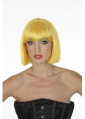 1 Perruque Crazy jaune