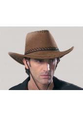1 Chapeau de Cow Boy Marron Clair