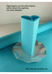 10M Nappe jetable presto turquoise