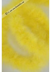 1 boa marabout jaune
