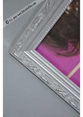 1 cadre photobooth ARGENT