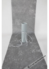 Chemin de table noel nouvel an chemin table rouge for Chemin de table gris anthracite