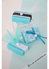 1 mini savon rectangle BLEUET