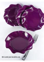 10 Coupelles prune