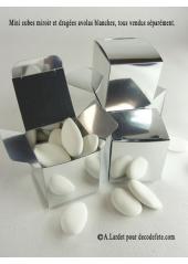 10 petits cubes MIROIR