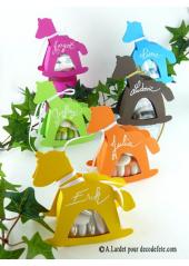 6 boîtes cheval CHOCOLAT