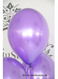 6 ballons violet pourpre nacré