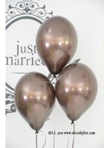 6 ballons chocolat