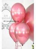 6 ballons bordeaux