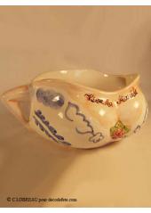 "Pot de chambre ""vive la mariée"""