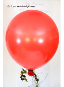 1 ballon GEANT 90cm rouge