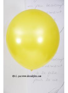 1 ballon GEANT 90cm jaune