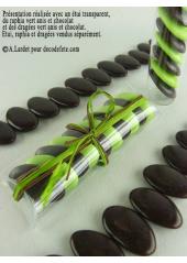 500gr Dragées chocolat 73% de cacao chocolat