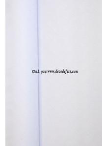 25 M Nappe papier EXTRA blanc