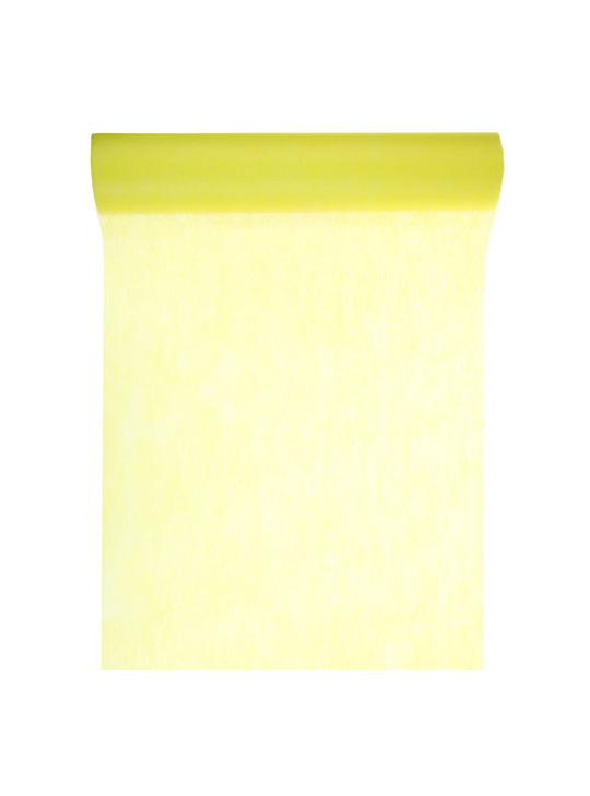 10m chemin de table eco jaune. Black Bedroom Furniture Sets. Home Design Ideas