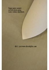 25 M Nappe papier EXTRA caramel