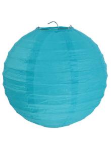 1 Lanterne TURQUOISE 50 cm