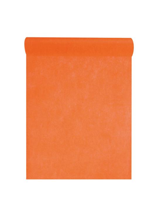 10m chemin de table eco orange - Chemin de table orange ...