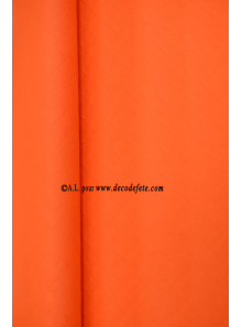 25 M Nappe papier EXTRA orange