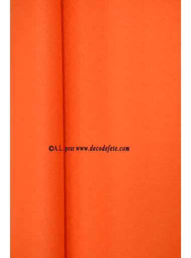 25 M Nappe papier EXTRA orange