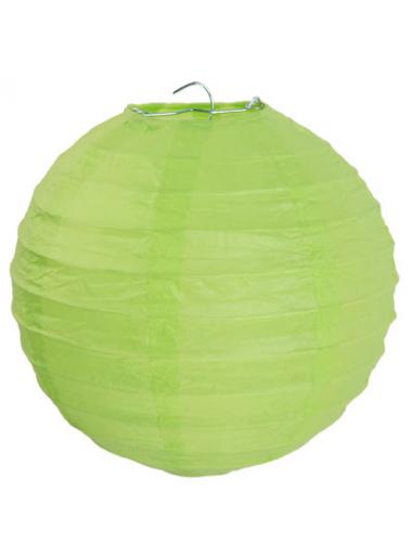 1 Lanterne VERT ANIS 50 cm