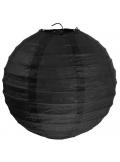 1 Lanterne NOIR 50 cm