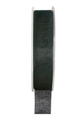 20m Ruban noir 6mm organdi