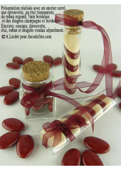 20m Ruban ivoire 6mm organdi