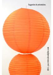 1 Lanterne ORANGE 50 cm