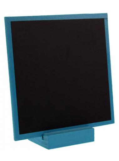 1 ardoise turquoise carrée