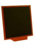 1 ardoise orange carrée