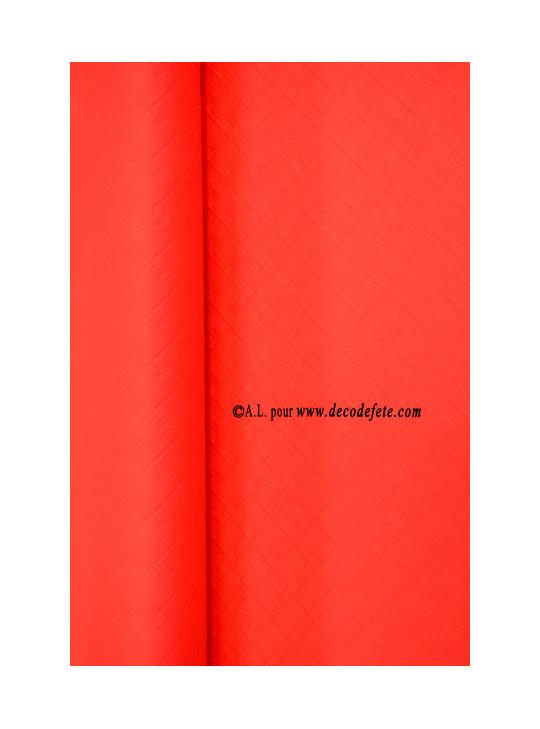 25 m nappe papier rouge. Black Bedroom Furniture Sets. Home Design Ideas
