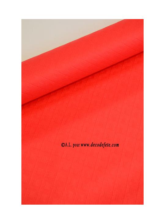 10 m nappe papier rouge. Black Bedroom Furniture Sets. Home Design Ideas