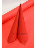 10 M Nappe papier EXTRA rouge
