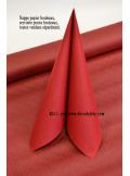 10 M Nappe papier EXTRA bordeaux