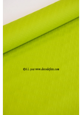 10 M Nappe papier EXTRA lime (vert anis)