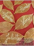 20 Feuilles willow or pailleté