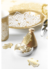 50 confettis oriental or
