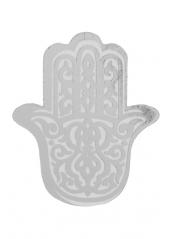 50 confettis oriental argent