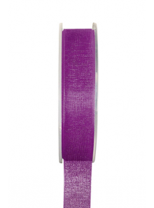20m Ruban violet 9mm organdi