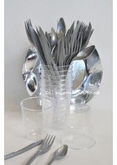 10 Verres plastic transparent